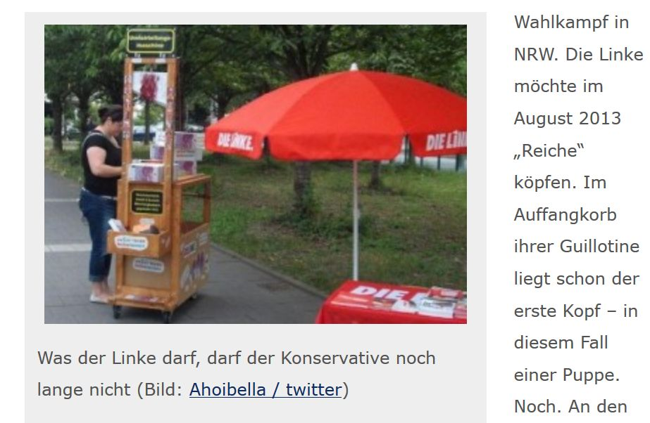 linke guillotine