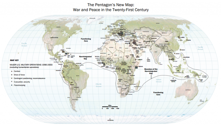 review of the pentagon s new map A sometimes strange, sometimes strangelovean white paper destined to top policy-wonk reading lists in the months to come—especially if, as the author suggests, the pentagon is taking it seriously.