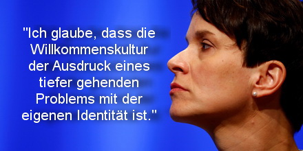 Chairwoman of the anti-immigration party Alternative for Germany (AfD) Frauke Petry is pictured during the second day of the AfD party congress in Stuttgart, Germany, May 1, 2016. REUTERS/Wolfgang Rattay