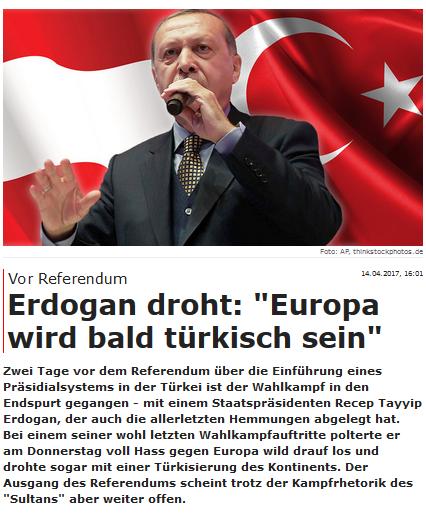 sind türken europäer