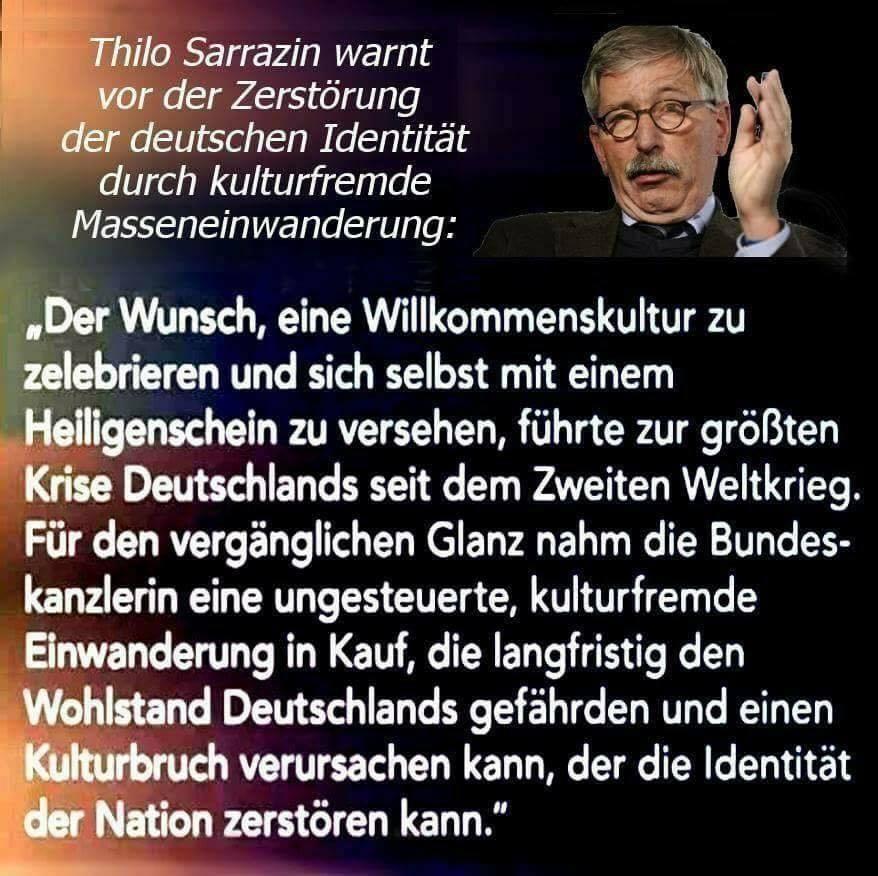 Sarrazin Klartext Den Die Leute Verstehen Merkel Muss Weg In
